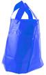 sac plastique bleu