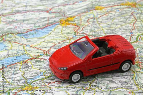 auto auf karte