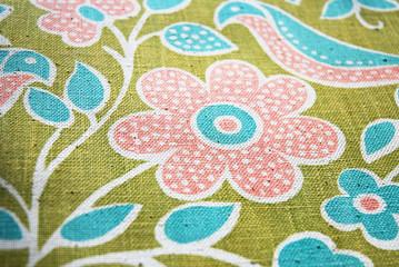 Folklore Textil Muster Druck