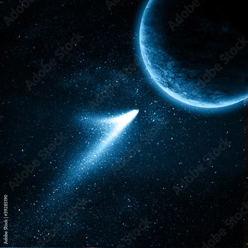 Fototapete Astronomy - Atmosphäre - Hintergrund