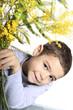 bambino con i fiori