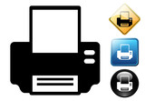 Printer pictogram and signs