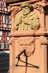 City fountain in Aschaffenburg