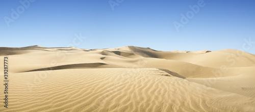 Gold desert. - 39287773