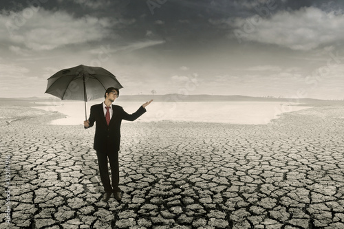 Business Crisis: Waiting for the rain to come