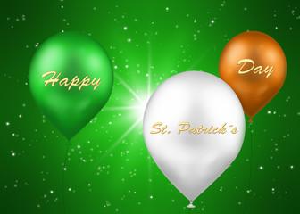 St. Patrick´s Day Irish Balloons