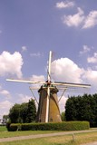 The windmill of Den Bommel in the Netherlands