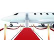 plane red carpet