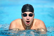 Swimming - male swimmer