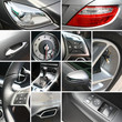 Luxury car details collage