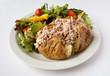 Tuna mayo Jacket Potato with side salad - 39298953
