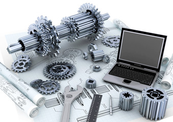Mechanical engineering Technology concept