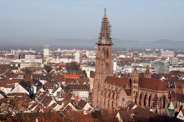 Freiburg im Breisgau, Münster und Altstadt