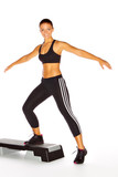 Aerobic-Workout mit dem Stepper