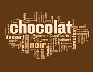 Nuage de Tags CHOCOLAT (dessert sucré bon appétit gâteau café)