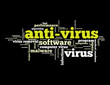 ANTI-VIRUS Tag Cloud (security virus program software computer)