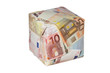 Geldwürfel / Geldgeschenk