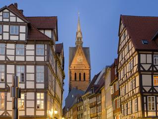 Germany. Hannover. Altstadt.Marktkirche.