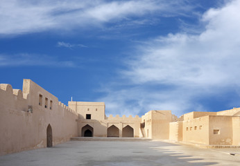Inside view southern portion of Riffa fort, Bahrain