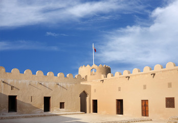 Rooms in the western portion of Riffa fort, Bahrain