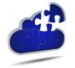 cloud puzzel