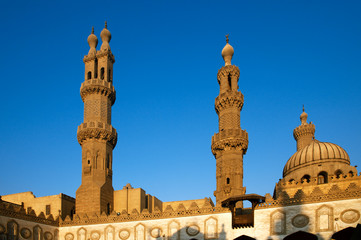 Al-Azhar University and mosque, Cairo, Egypt