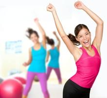 Fitness danse zumba classe