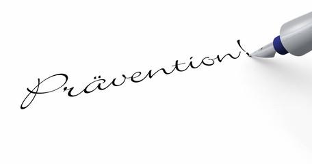 Stift Konzept - Prävention