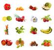Owocowo-warzywny kolaż