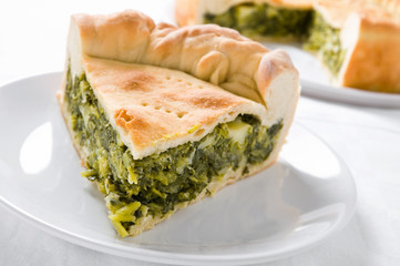 Mediterranean Vegetable Pie.