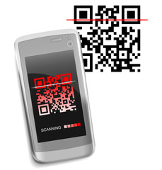 QR-Code and Smartphone