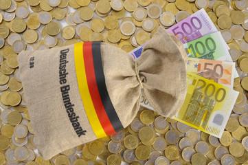 Geldsack Bundesbak