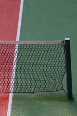 dettaglio di una rete da tennis