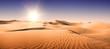 Leinwanddruck Bild - Gold desert.