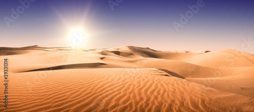Gold desert. - 39331314
