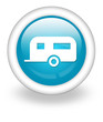 "Light Blue Icon ""Camping Trailer"""