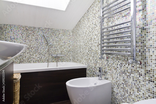 Bagno sanitari mosaico di lapas77 foto stock royalty for G m bagno di giuntini massimo