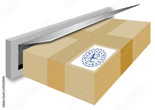 post briefkasten paket lieferung service von pitels lizenzfreies foto 39336969 auf. Black Bedroom Furniture Sets. Home Design Ideas