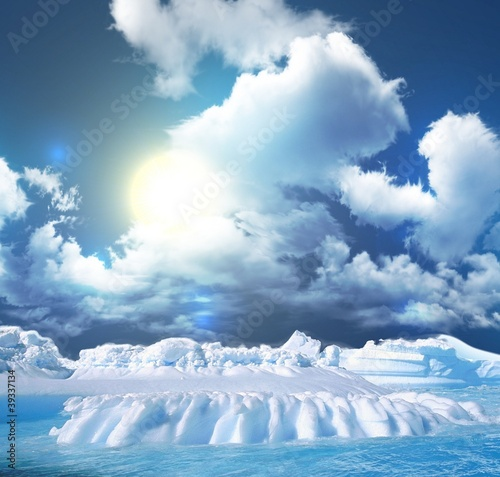 Fototapeten,ice floe,eis,klima,eisberg
