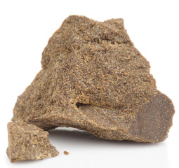 Street drug: Hashish, isolated