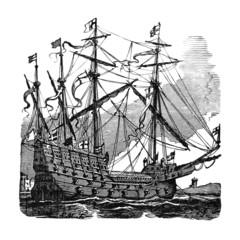 Sailing Ship - 16th