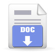 Download Button - DOC