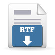 Download Button - RTF