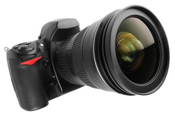 appareil photo et son objectif