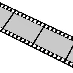 3d render of blank film