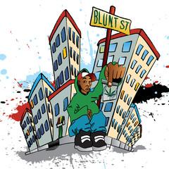 Ghetto Blunt Street