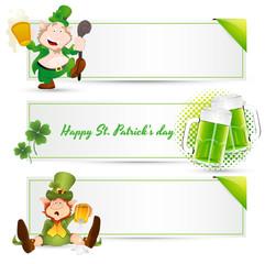 St. Patrick's Day Leprechaun Banners