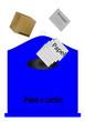 Contenedor de reciclar papel y carton