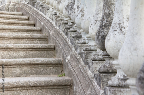 Stone Balusters and Steps