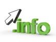 3D Domain info mit Pfeil
